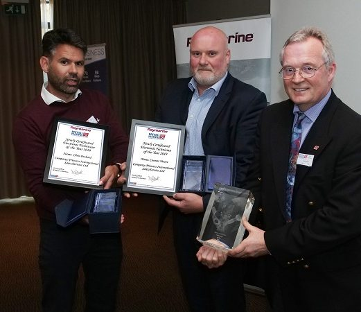 Newly Certificated Electronic technicians of the Year